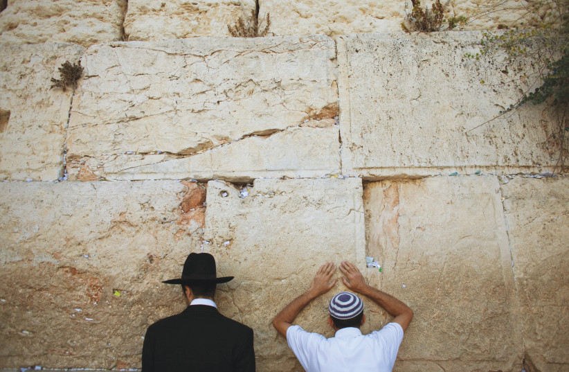 'ROSH HASHANAH is the birthday of the collective – of the Jewish people; and, from the Jewish perspective, of the entire world.' (photo credit: REUTERS)
