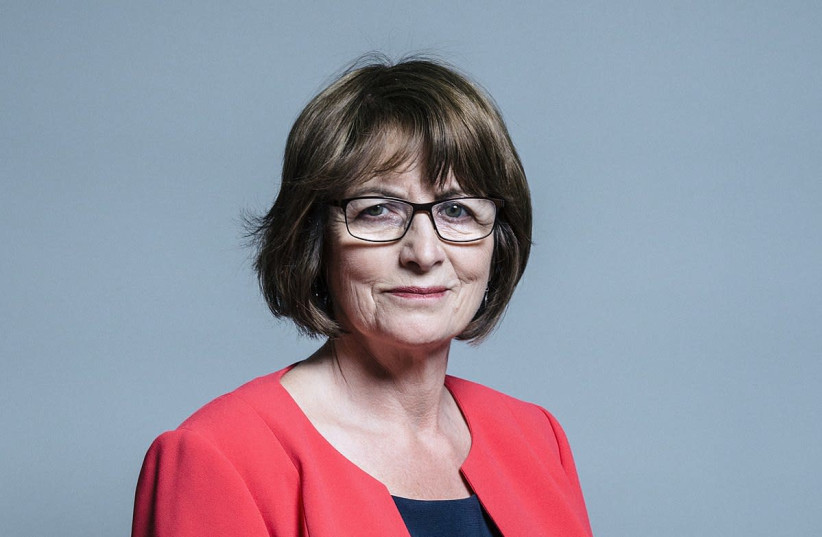 Jewish Labour MP for Liverpool Riverside Louise Ellman (photo credit: CHRIS MCANDREW/WIKIMEDIA COMMONS)