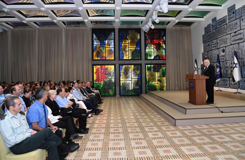 President Rivlin hosts seminar on pardons (photo credit: HAIM ZACH/GPO)