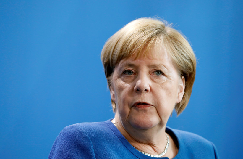 Merkel claims there's 'hard evidence' Russia behind cyber attack