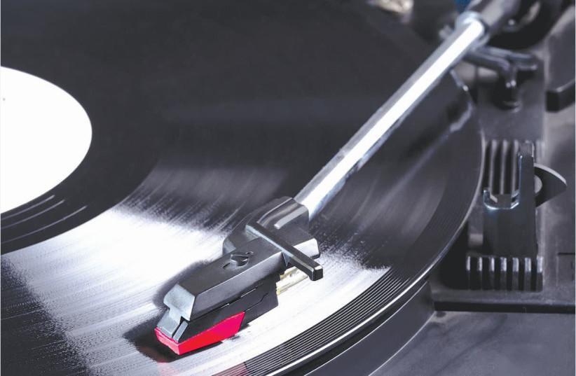 VINYL RECORDS: A return to nostalgia.  (photo credit: INGIMAGE)