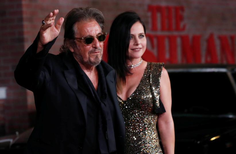 Al Pacino and Israeli girlfriend together at The Irishman ...