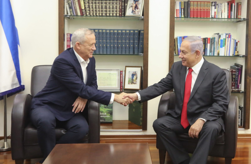 Likud's, Blue and White's blame game begins before the March 2 elections
