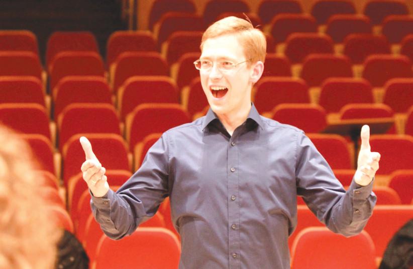 COLLEGIUM VOCALE Hannover conductor Florian Lohmann.  (photo credit: Courtesy)