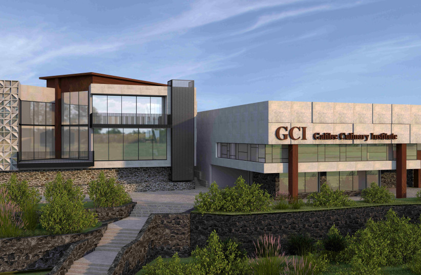 Artist rendering of the new state-of-the-art GCI campus being built at Kibbutz Gonen (photo credit: JNF)