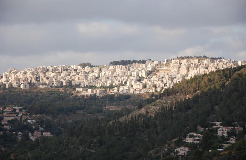 A view of the Har Nof neighborhood, Jerusalem (photo credit: WIKIPEDIA/SIR KISS)