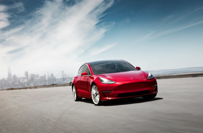 Tesla are about to be approved for use in Israel (photo credit: TESLA)