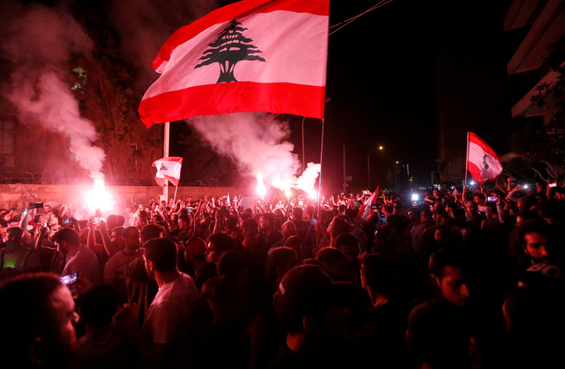 Instability in Lebanon (photo credit: REUTERS)
