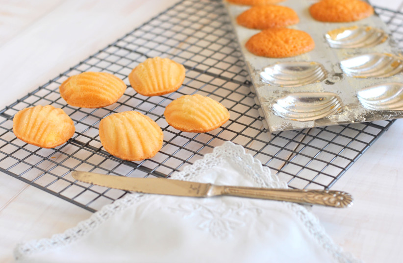 Madeleines were made famous by French novelist Marcel Proust (photo credit: PASCALE PEREZ-RUBIN)