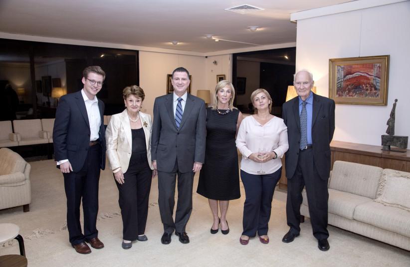 Committee members at the 2013 inaugural meeting of the Genesis Prize Committee (photo credit: NATASHA KUPERMAN)