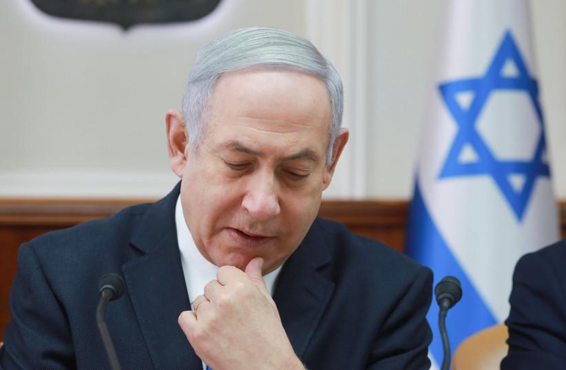 Benjamin Netanyahu (photo credit: OHAD TZVEIGENBERG)