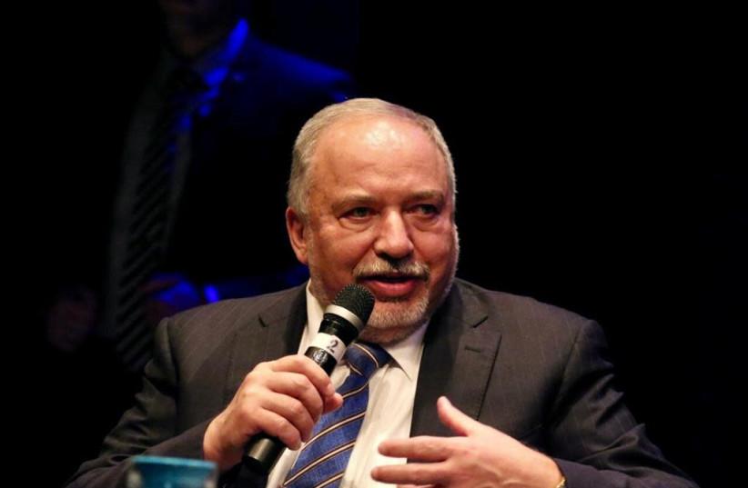 Yisrael Beytenu leader Avigdor Liberman (photo credit: AVSHALOM SASSONI/MAARIV)