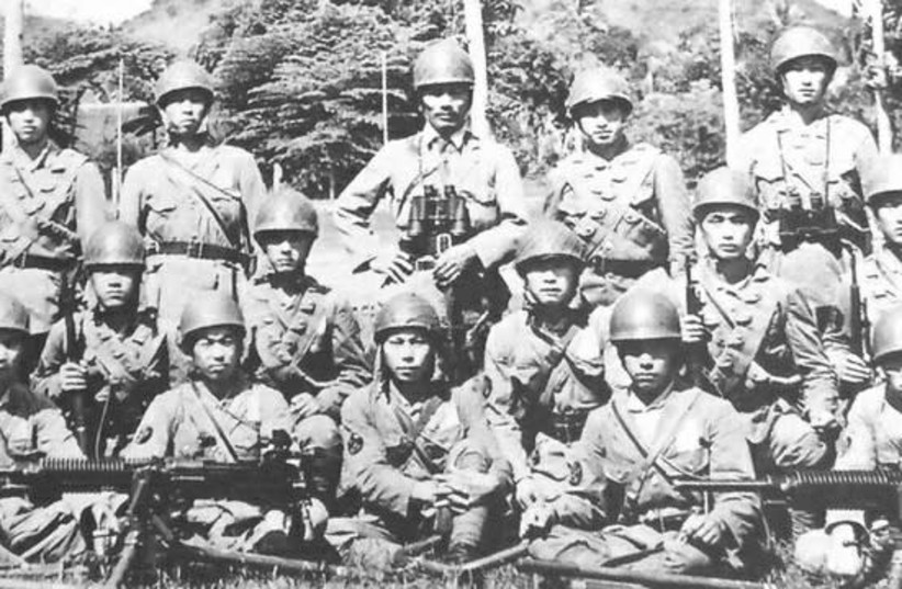'WHEN WHOLE nations – like the Japanese in World War II – are involved, everyone is a legitimate target until the threat is neutralized. Pictured: Japanese Special Naval Landing Forces Paratroopers, 1942.  (photo credit: Wikimedia Commons)