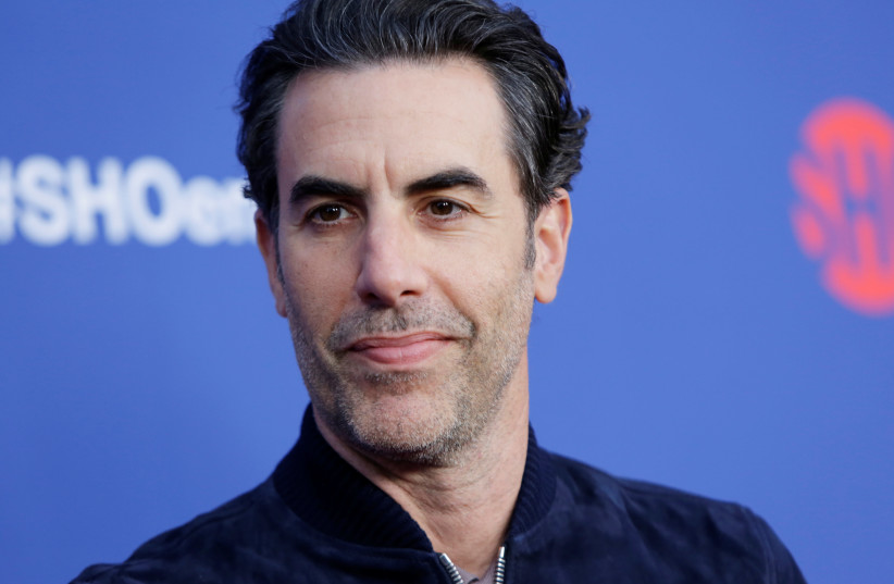 "Sacha Baron Cohen arrives at the premiere of red carpet event for the screening for the Showtime Series ""Who Is America"", moderated by Sarah Silverman in Los Angeles, California, U.S., May 15, 2019 (photo credit: REUTERS/MONICA ALMEIDA)"