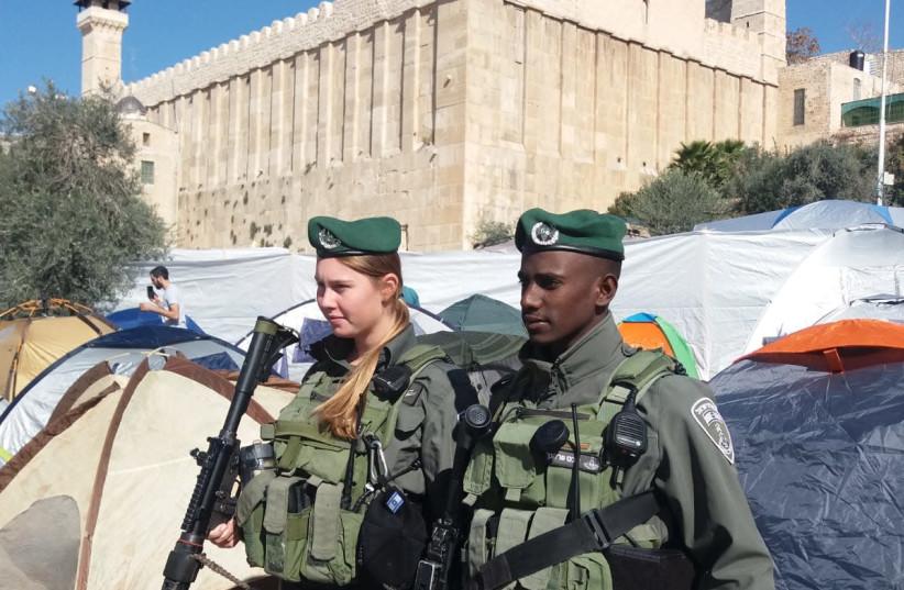 Hebron, November 22, 2019. (photo credit: POLICE SPOKESPERSON'S UNIT)