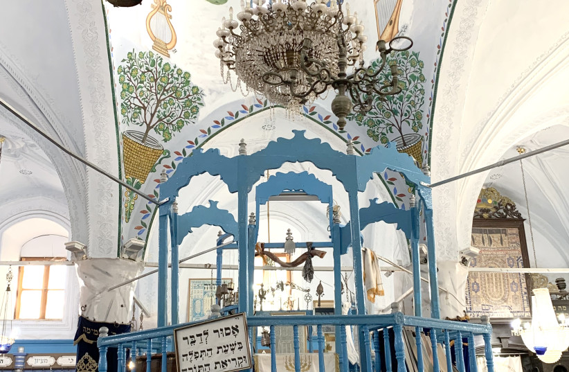 So many synagogues –  Safed (photo credit: JACOB SOLOMON)