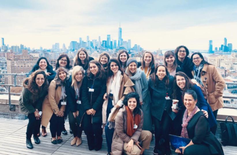 New York Delegation (photo credit: Courtesy)