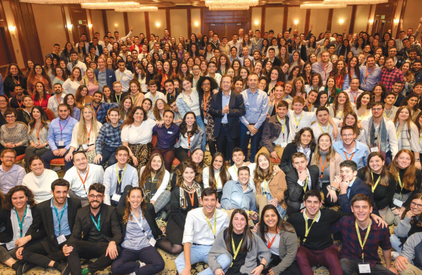 Jewish Agency 'shlichim' at the North American Shlichim Conference. (credit: NIR ARIELI)