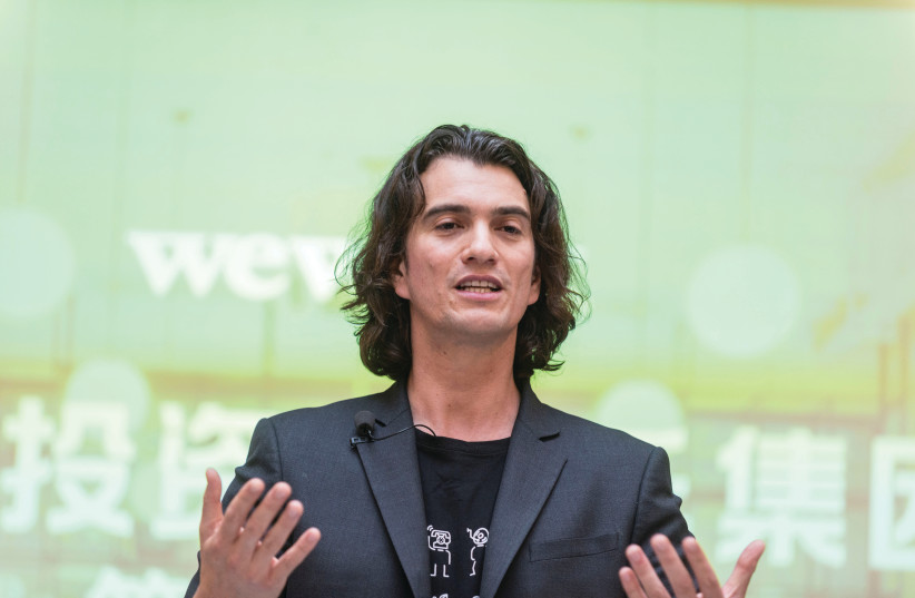 ADAM NEUMANN, former chief executive officer of US co-working firm WeWork.  (photo credit: REUTERS)