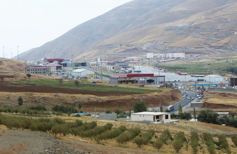 THE BORDER between the Kurdistan Region of Iraq and Iran. (photo credit: REUTERS)