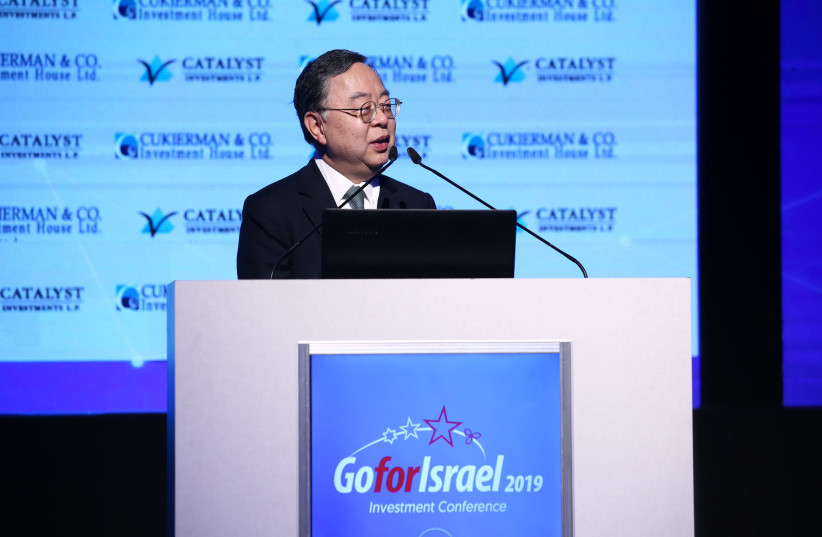 Ronnie Chan, chairman of Hang Lung Group and subsidiary Hang Lung Properties. (photo credit: DROR SITAHKOL)