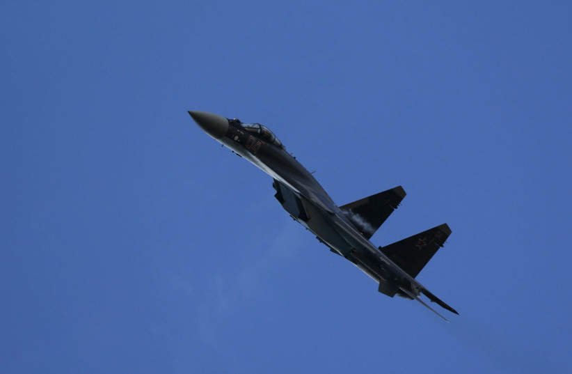 Russian Su-35 jets scrambled to stop Israel over Syria - reports - Jerusalem Post