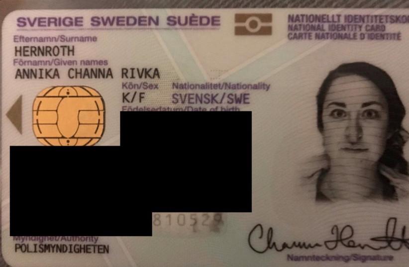 Jewish journalist's nose possibly 'doctored' on Swedish ID card - Jerusalem Post