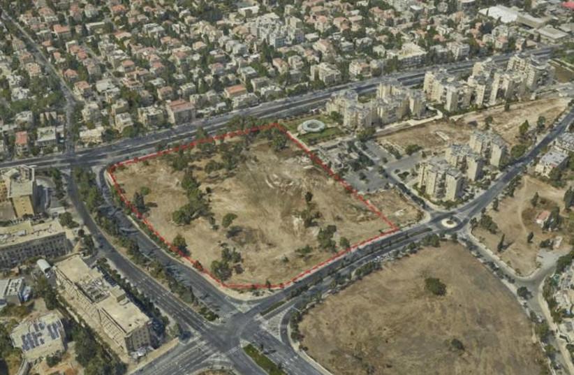 Project for permanent US embassy in Jerusalem. (photo credit: JERUSALEM MUNICIPALITY)