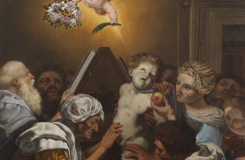 Giuseppe Alberti, Alleged martyrdom of Simonino da Trento, 1677, oil on canvas, Trento, Castello del Buonconsiglio. Provincial monuments and collections. (photo credit: MUSEO DIOCESANO TRIDENTINO)