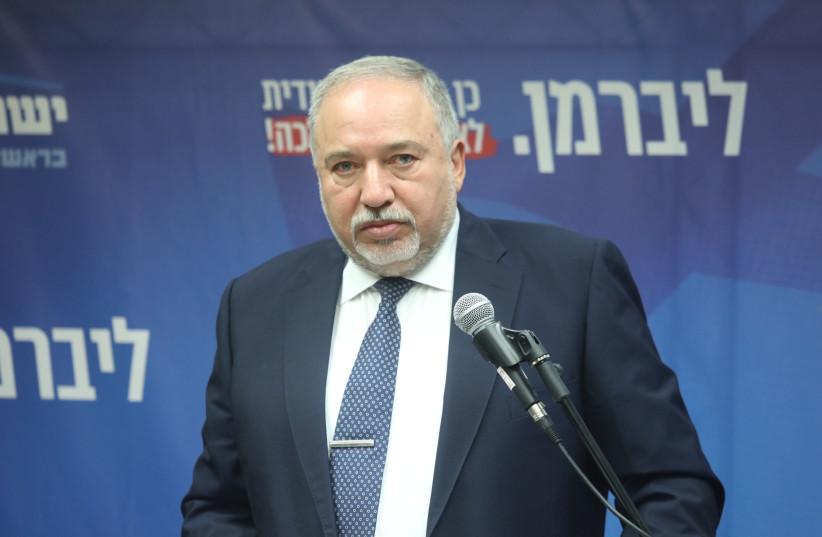 Yisrael Beytenu leader Avigdor Liberman (photo credit: MARC ISRAEL SELLEM)