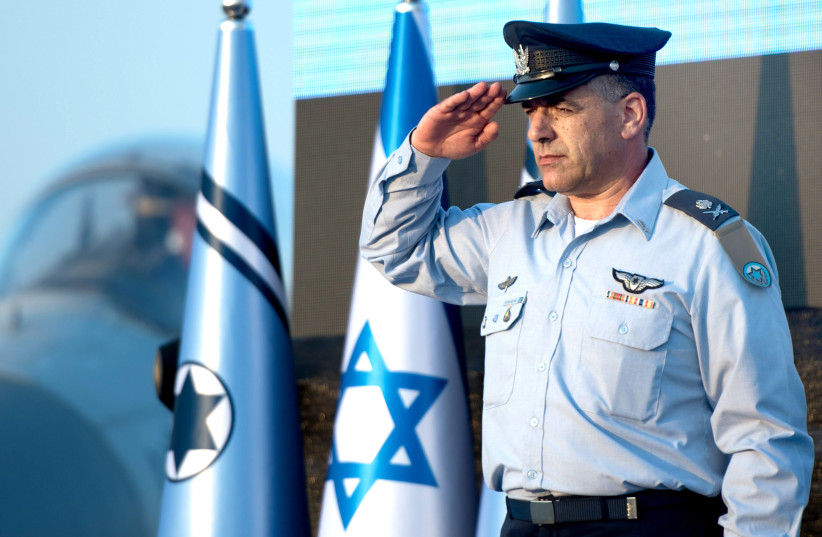 The team behind the machine: Profiling Israel Air Force Commander Maj.-Gen. Amikam Norkin (photo credit: ISRAEL AIR FORCE)