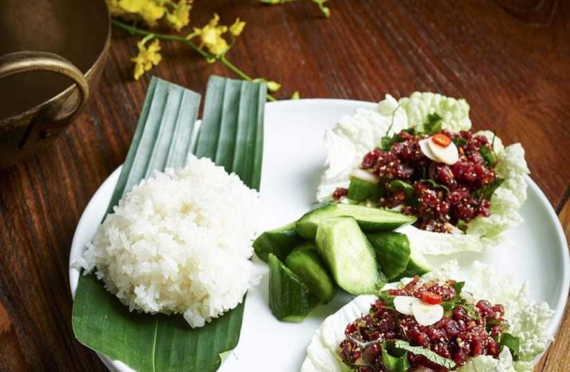 Fine Asian cuisine at Thai House (photo credit: BEN YUSTER)