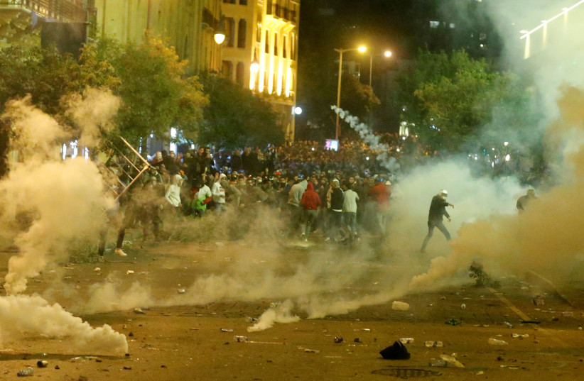 Lebanon's Interior Minister blames 'foreign forces' for protests - Jerusalem Post
