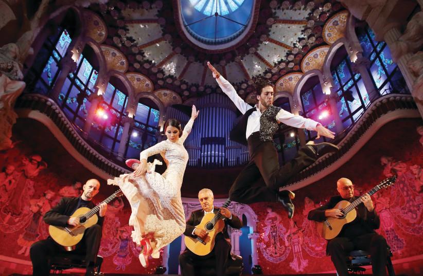 Barcelona Guitar Trio and Dance  (photo credit: EGOEAST PRODUCTIONS)