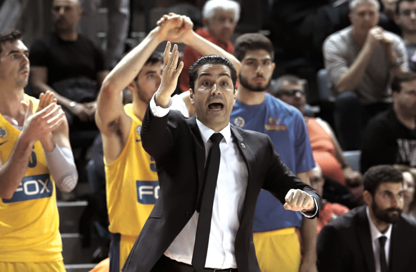 IOANNIS SFAIROPOULOS Ioannis Sfairopoulos has brought stability to Maccabi Tel Aviv, both locally and in Europe, in his year-plus with the club and was rewarded this week with a contract extension.  (photo credit: ADI AVISHAI)