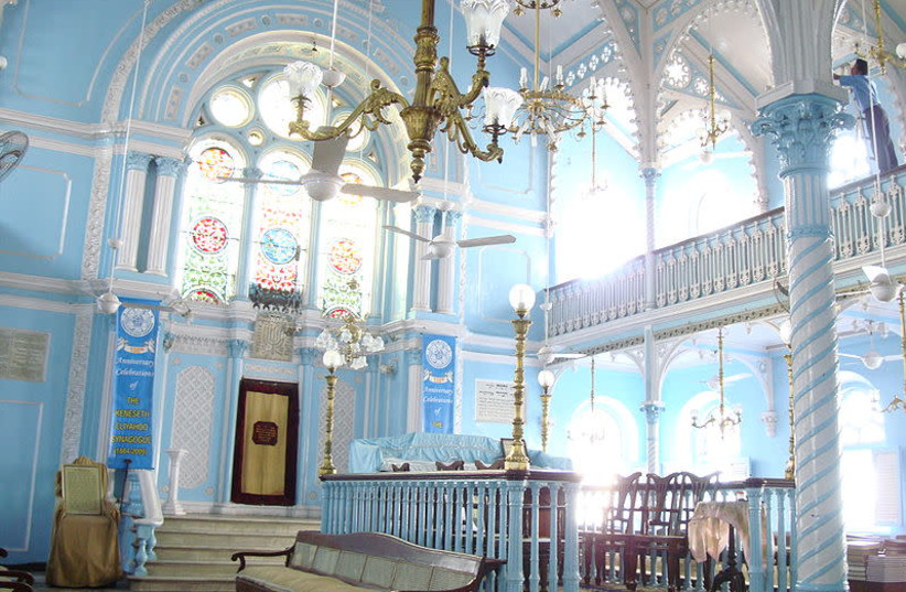 Renovated Mumbai grand synagogue now a World Heritage Site