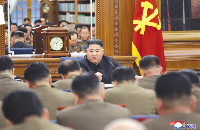 North Korea's Kim Jong Un warns 'serious consequences' if virus breaks out