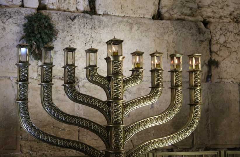 The Western Wall welcomed more than 500,000 visitors this Hanukkah