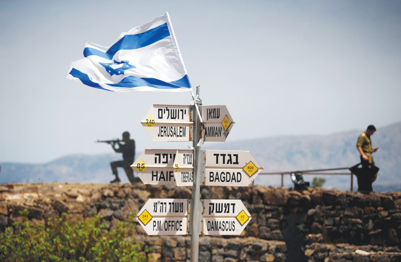 A COMPLEX region presents many challenges for Israel.  (photo credit: REUTERS)