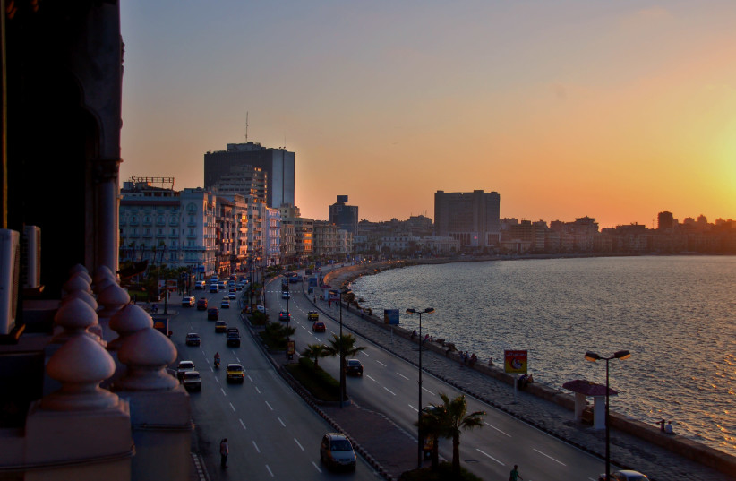 Alexandria, Egypt (photo credit: Wikimedia Commons)
