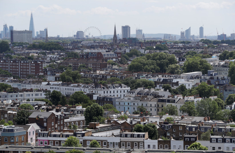 A general view shows the London skyline from the City of London to Westminster, in central London, Britain June 15, 2017 (photo credit: REUTERS/PETER NICHOLLS)