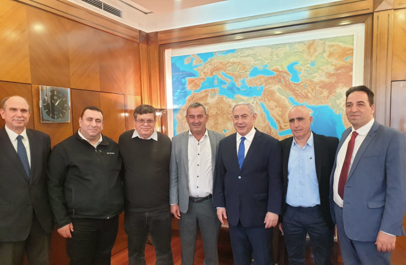 The government approved a NIS 200 million aid for Druze and Circassian villages (photo credit: Courtesy)