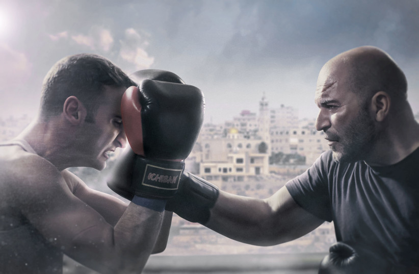 A promotional image for Fauda. (photo credit: OHAD ROMANO/COURTESY OF YES)