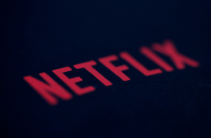 An illustration photo shows the logo of Netflix, the American provider of on-demand internet streaming media. (photo credit: REUTERS)