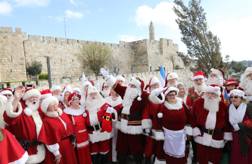 Santa and Mrs Claus come to Jerusalem - The Jerusalem Post