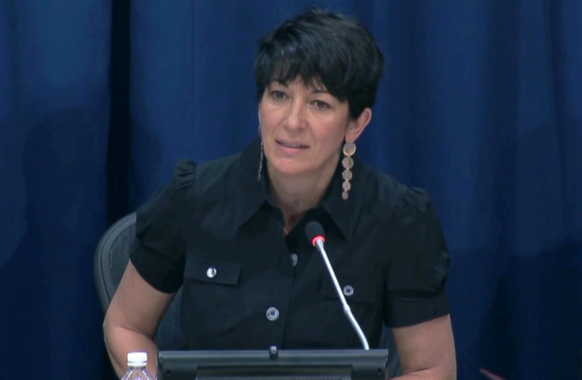 Ghislaine Maxwell, longtime associate of accused sex trafficker Jeffrey Epstein (photo credit: REUTERS)