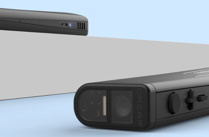 The OrCam Read (photo credit: Courtesy)