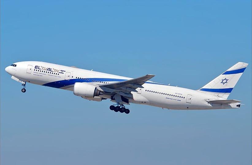 El Al Boeing 777 258 ER (photo credit: Wikimedia Commons)