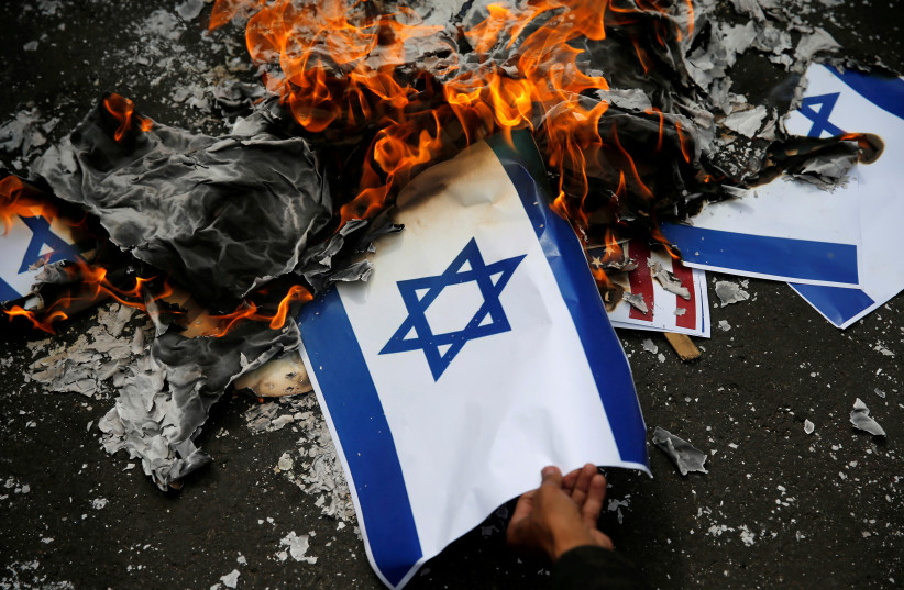 Germany's Left party blocks ban on burning of Israeli flag