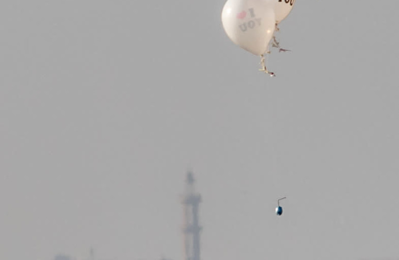Why did Gaza groups resume incendiary balloon attacks on Israel? - The Jerusalem Post